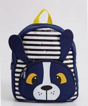 Mochila Escolar Infantil Listrada Clio Pets Cachorro - CP2108P -
