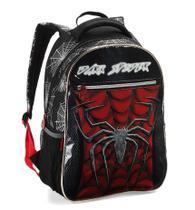 Mochila Escolar Infantil Masculino Costas Dark Spider DL1012 - Denlex