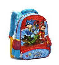 Mochila Escolar Infantil Pet Heroes Seanite MI14005 Azul -