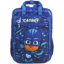 Mochila Escolar Infantil PJ MASKS Catboy G 11757 Dermiwil - Dmw