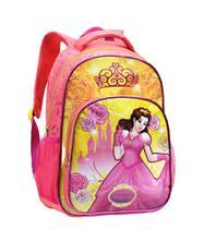 Mochila Escolar Infantil Princesas Feminina 13950 De Costas - Seanite