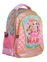 Mochila Escolar Infantil Princesas Rosa - Convoy ( YS42013 ) -