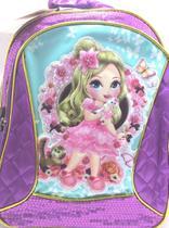 Mochila Escolar Infantil Princesas Violeta - Convoy ( YS42013 ) -