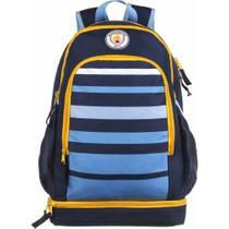 Mochila Escolar Manchester City Com Cooler Interno 11671 Dmw -