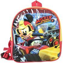 Mochila Escolar Mickey Mouse C/LIVROS+ACESSOR. - Dcl