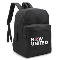 Mochila Escolar Now United Music - Semprenalutamodas