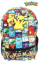 Mochila Escolar Pokémon Espaçosa Linda Reforçada - Poke