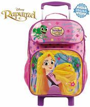 c1a55e04f Mochila Escolar Rapunzel Rodinhas Infantil Menina Estojo Dermiwil