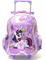 Mochila Escolar Rodinhas My Little Pony Poney Tam G Pacific