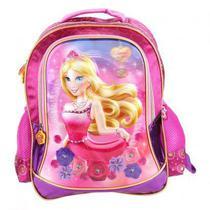 Mochila escolar Santino - Princesa Sweet Girl - Alto relevo -