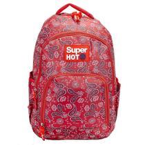 Mochila Escolar Super Hot Porta Notebook - Voz