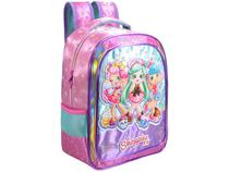 Mochila Escolar Tam. M Xeryus  - Shoppies Shopkins Sweet Friends