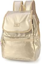 Mochila Escolar UP4YOU BY Maisa Crinkle Metal - Luxcel