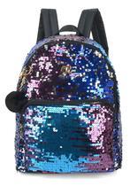 Mochila feminina Barbie Paetês com Brilho coleção 60 anos 45824 - Luxcel
