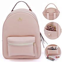 mochila feminina escolar a pronta entrega produto original com nota fiscal - Livia Sabatini
