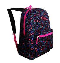 mochila feminina escolar aulas meninas clio style coração Cor : Preta - Outras marcas