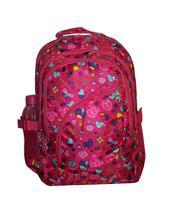 Mochila Feminina Notebook Impermeável Escola Chuva Love 2101 Cor : ROSA - Outras marcas