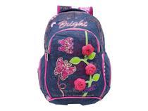 Mochila Flores Aroma Regam Escolar Feminina Grande L34 - Regal