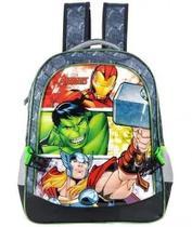 Mochila G Costas Vingadores Thor Homem De Ferro Hulk Xeryus -