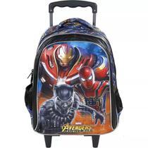 Mochila G Rodinhas Os Vingadores Marvel Avengers Xeryus -