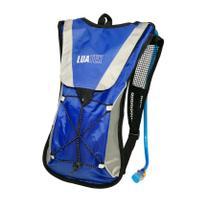 Mochila Hidratação Impermeável Bolsa Dágua 2 L Bike Azul - Luatek