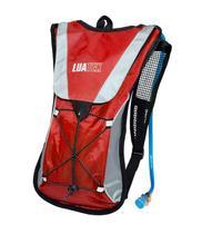 Mochila Hidratação Impermeável Bolsa Dágua 2 L Bike Vermelha - Luatek