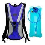 Mochila Hidratação Impermeável C/ Bolsa Dágua 2 Litros Bike Azul - Dylan