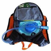 Mochila Hidratação Impermeável C/ Bolsa Dágua Bike 1,5 Litros - Yins