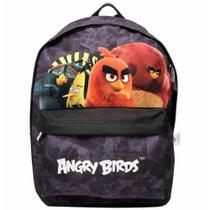 Mochila inf angry birds cinza abm803301 - Santino