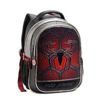 Mochila Infantil 35cm Aranha Dark Spider Denlex DL0623 -