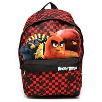 Mochila infantil angry birds vermelha/preto abm802703 / un / santino -