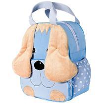Mochila Infantil Cachorrinho Azul M - Sônia enxovais