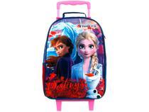 Mochila Infantil Escolar Feminina Princesas - de Rodinha Tam.G Dermiwil Frozen 2 Easy