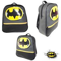 Mochila Infantil Escolar Masculina Morcego Batman - Sobrinhos moda