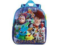 Mochila Infantil Escolar Masculina Toy Story 4 - Tam. M Dermiwil Neo Azul