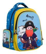 Mochila Infantil Escolar Pirata Tam P - Convoy (ys42014 ) -