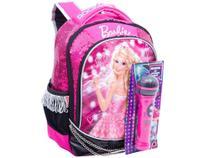 Mochila Infantil Escolar Tam. M Sestini Barbie - Rock In Royals com Microfone -