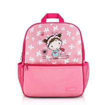 Mochila Infantil Feminina Escolar Jacki Design Rosa -