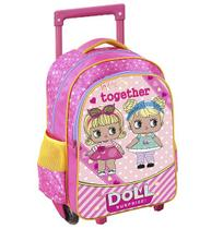 Mochila infantil feminina together doll 15,5 - Wellmix