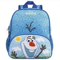 Mochila Infantil Frozen 2 Olaf Media Impermeavel 34Cm Dmw -