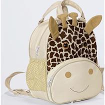 Mochila Infantil Girafa Palha M - Sônia enxovais