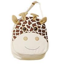 Mochila Infantil Lancheira de Mão Girafa Palha P - Sônia enxovais