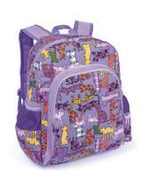 Mochila Infantil LS MO3120 com bolso frontal e 2 bolsos laterais - Ls Bolsas