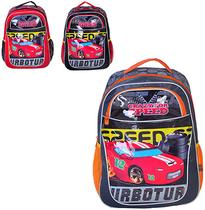 Mochila infantil masculina standard crazy for speed 16 - Wincy