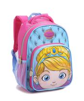 Mochila Infantil Menina Seanite 14483 Princesinha Fofa Rosa -