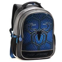 Mochila Infantil Meninos Estampa Alto Relevo Dark Spider - FMSP