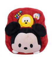 Mochila Infantil Mickey Tsumtsum Pelúcia - Mickey  Minnie