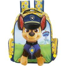 Mochila Infantil Patrulha Canina de Costas Média - Ref: 7973 - Xeryus -