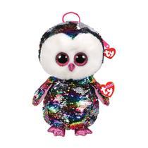 Mochila Infantil Pelucia Paete Pequena Ty Fashion Owen 5012 - Dtc