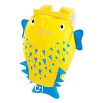 Mochila Infantil Trunki - Modelo PaddlePak - Peixe Espinho Spike - cor Amarelo -